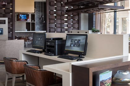 Business Center | Residence Inn Phoenix Downtown