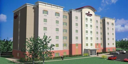 Hotel Front | Candlewood Suites Newark South - University Area