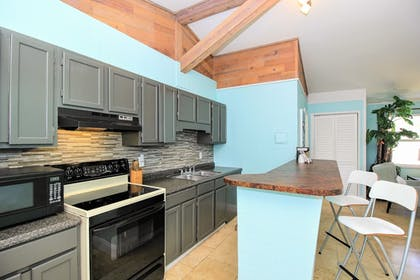 In-Room Kitchen | Sea Steps Suites