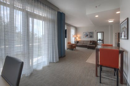Living Area | Residence Inn by Marriott Raleigh Downtown