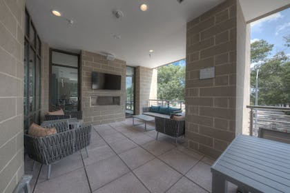 Terrace/Patio | Residence Inn by Marriott Raleigh Downtown