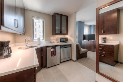 In-Room Kitchen | Residence Inn by Marriott Raleigh Downtown