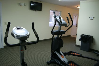 Fitness Facility | Affordable Suites Mooresville LakeNorman
