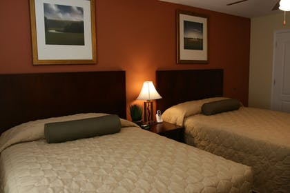 Guestroom View | Affordable Suites Mooresville LakeNorman