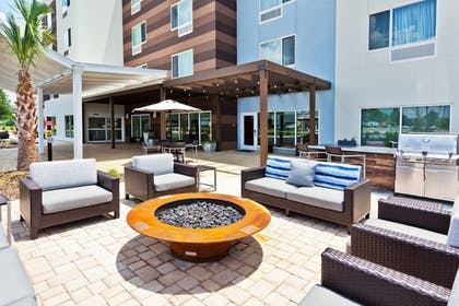Terrace/Patio | TownePlace Suites by Marriott Montgomery EastChase