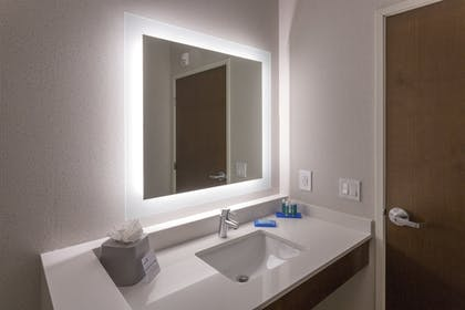 Bathroom | Holiday Inn Express & Suites Seattle South - Tukwila