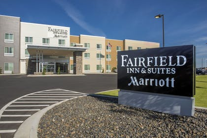 Hotel Front | Fairfield Inn and Suites by Marriott Moses Lake