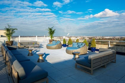 Terrace/Patio | Watt Hotel Rahway, Tapestry Collection by Hilton