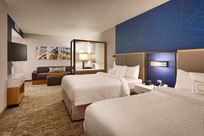 Guestroom | SpringHill Suites by Marriott Coralville