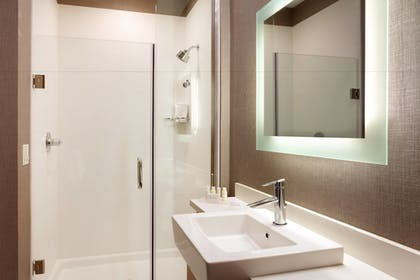 Bathroom | SpringHill Suites by Marriott Coralville