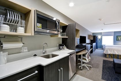 In-Room Kitchen | Home2 Suites by Hilton Jackson