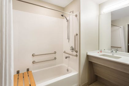 Bathroom | Microtel Inn & Suites by Wyndham Springville/Provo