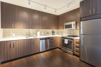 Private Kitchen | Downtown Lux Apartments by Barsala