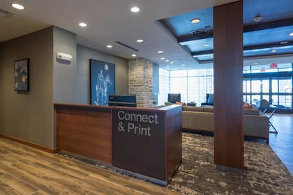 Business Center   Fairfield Inn and Suites by Marriott Lubbock Southwest