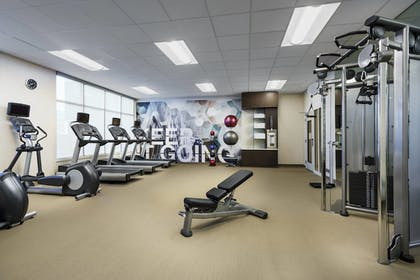 Fitness Facility | SpringHill Suites by Marriott Belmont Redwood Shores