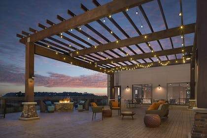 Terrace/Patio | TownePlace Suites by Marriott Foley at OWA