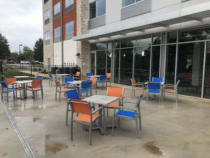 Terrace/Patio | Holiday Inn Express & Suites Greenville SE - Simpsonville