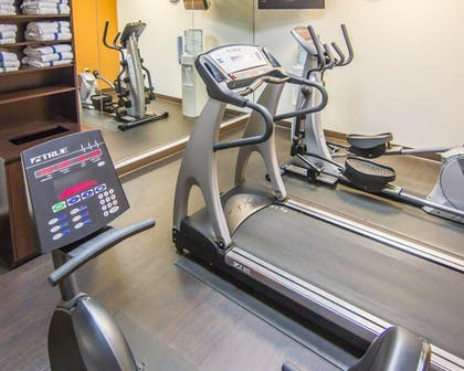 Fitness Facility | Comfort Suites Marshall