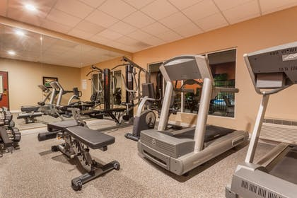Fitness Facility | Holiday Inn Express Hotel & Suites Manteca