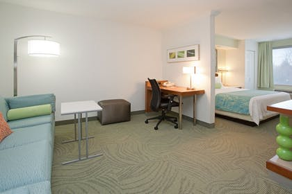 Guestroom | SpringHill Suites by Marriott Portland Airport