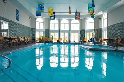 Indoor Pool | Hamilton Inn Select Beachfront