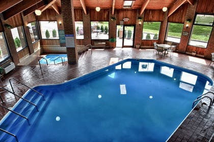 Indoor Pool | Christopher Inn and Suites