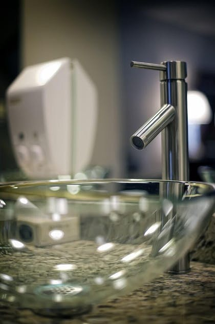 Bathroom Sink   Salvatore's Garden Place Hotel, an Ascend Hotel Collection