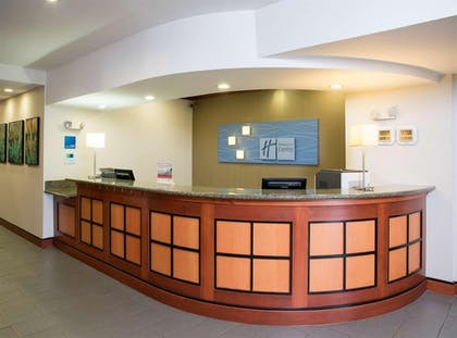 Interior | Holiday Inn Express Hotel & Suites Danville