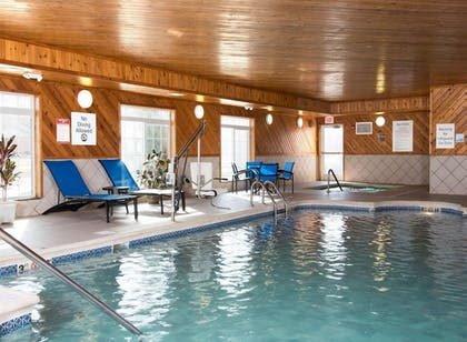 Pool | Holiday Inn Express Hotel & Suites Danville
