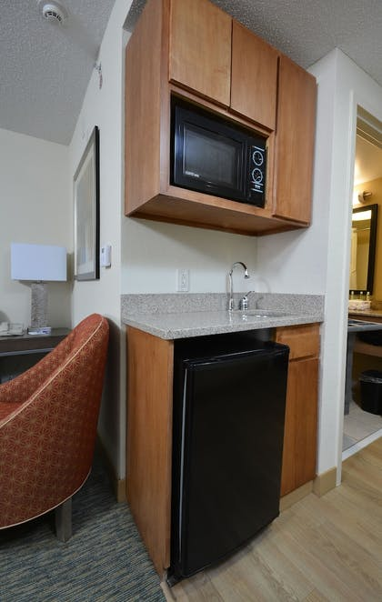 In-Room Kitchenette | Holiday Inn Express Hotel & Suites High Point South