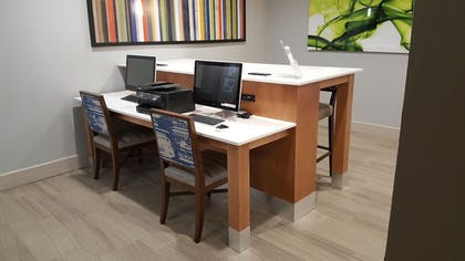 Business Center | Holiday Inn Express Hotel & Suites Pearland