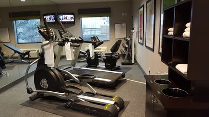 Fitness Facility | Holiday Inn Express Hotel & Suites Pearland