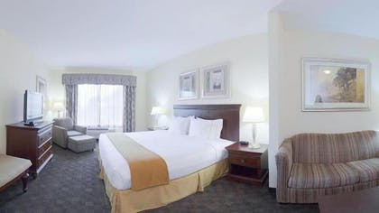 Living Area | Holiday Inn Express Hotel & Suites Pearland