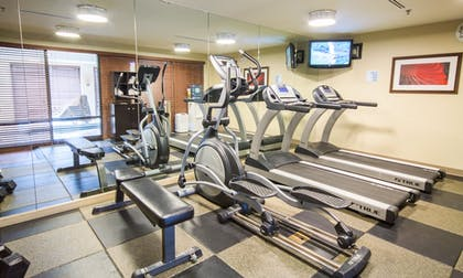 Fitness Facility | Holiday Inn Express Hotel & Suites Auburn