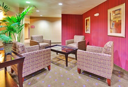 Lobby Sitting Area | Holiday Inn Express Hotel & Suites Hollywood Walk of Fame