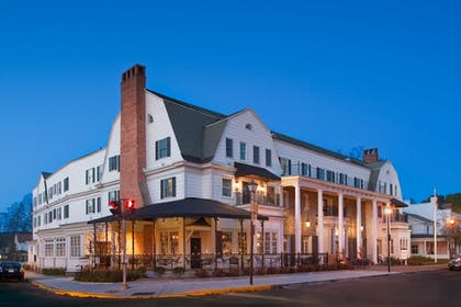 Hotel Front - Evening/Night | Colgate Inn