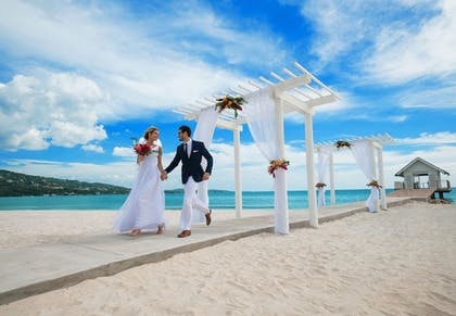 Outdoor Wedding Area | Sandals South Coast