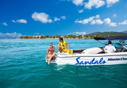 Boating | Sandals South Coast