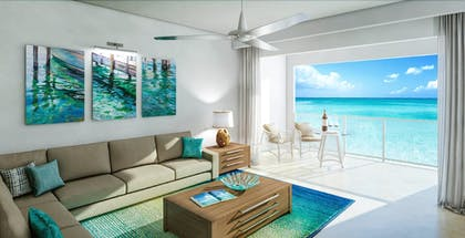 Living Area | Sandals South Coast