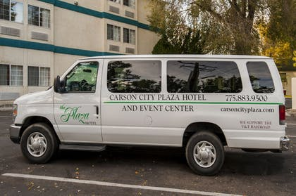 Airport Shuttle | Carson City Plaza Hotel and Event Center