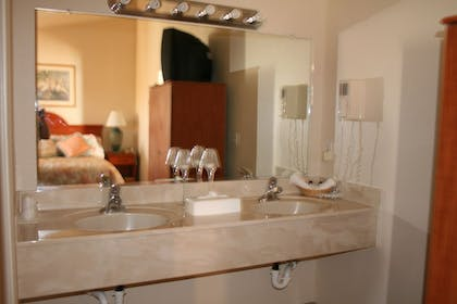Bathroom Sink | Carson City Plaza Hotel and Event Center