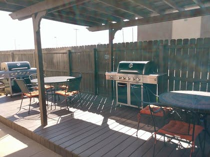 Terrace/Patio | Candlewood Suites Tulsa