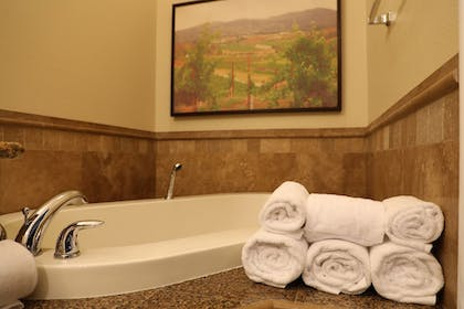 | Ruby Cuvee Suite with Sofa bed Hotel Tower | South Coast Winery Resort and Spa