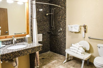 Bathroom Shower | Aarchway Inn