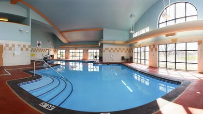 Indoor Pool | Holiday Inn Express Hotel & Suites Boise West - Meridian