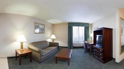 Living Area | Holiday Inn Express Hotel & Suites Pittsburgh West Mifflin