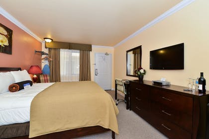 Guestroom | Americas Best Value Inn & Suites SFO Airport N