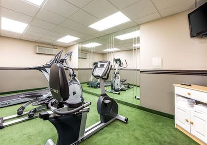 Fitness Facility | Savannah House Hotel