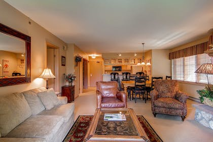 Living Area | The Borders Lodge