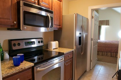 In-Room Kitchen | King's Creek Plantation